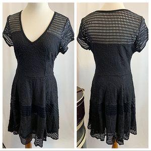 PLENTY by TRACY REESE Spliced Frock Black Dress